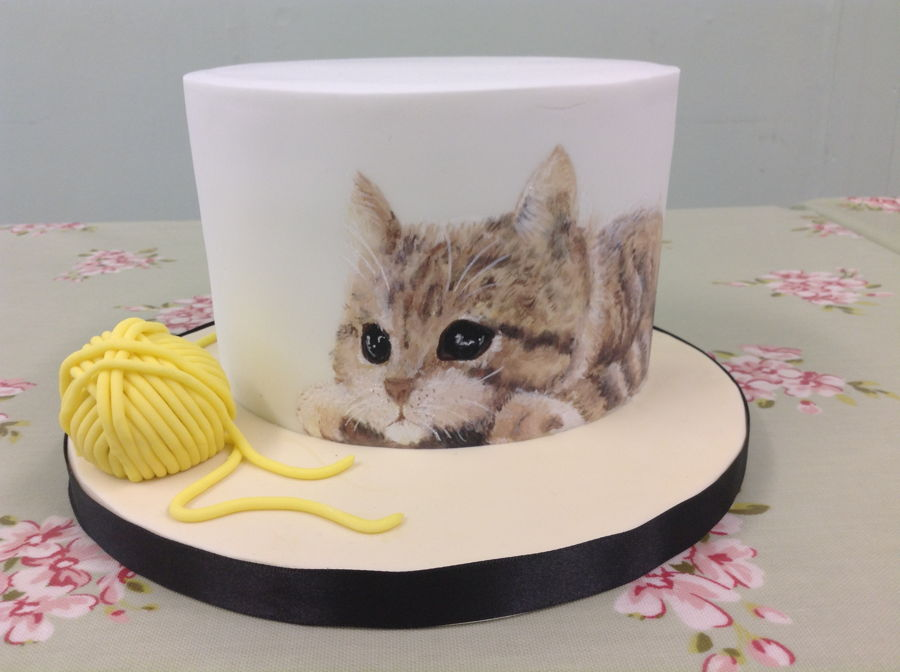 Painting Cats On Cakes on Cake Central