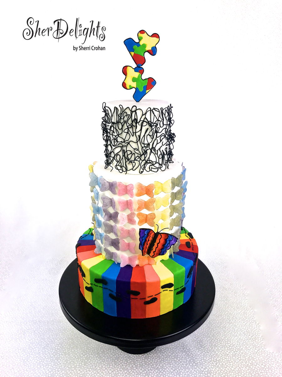 Sugar Art For Autism on Cake Central