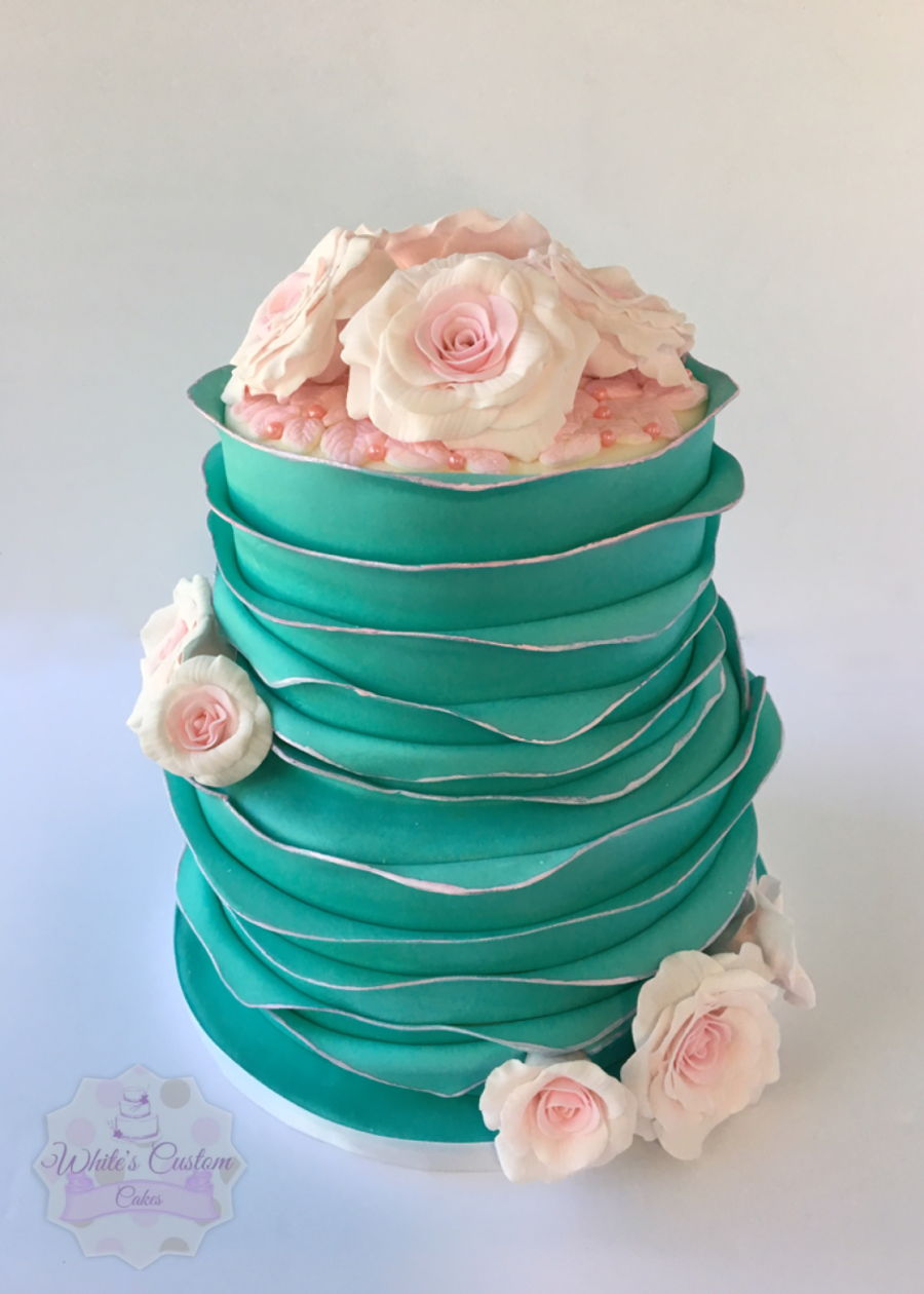 Tiffany Bridal on Cake Central