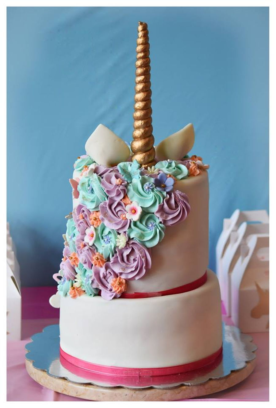 Unicorn Cake On 2nd B Day Cakecentral Com