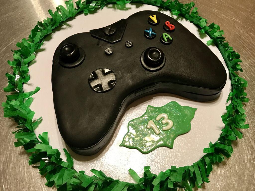 Xbox Remote Control Cake