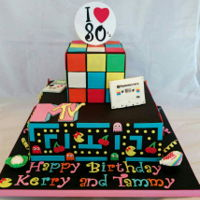 80S Cake Had lots of fun with this cake ☺
