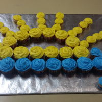 Arrow Of Light Cupcakes for Cub Scouts earning Arrow of Light
