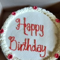 Birthday Cake Red velvet cake