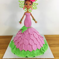 Briar Rose Doll Cake link to tutorial right here: