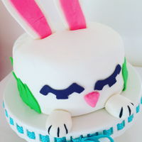 Bunny Cake I made this cake awhile back for easter. I had tons of fun making it!