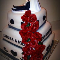 Drought To The Alter Lol!! I like making roses on cakes