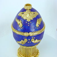 Faberge Egg I made this Faberge egg for Easter this year. Always wanted to make one! TFL!!