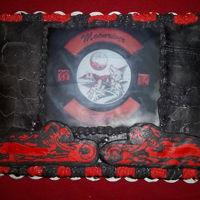 Mc Celebration Cake Buttercream transfer of original back patch