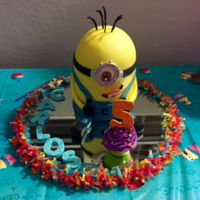 Minions Fun Cake Yellow cuteness !