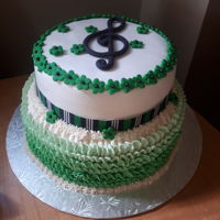 Music Themed Cake music cake