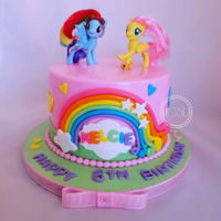 My Little Pony Cake 8'' vanilla cake