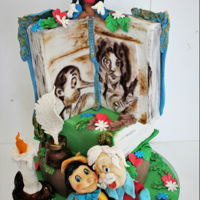 Pinocchio Hi everyone , this is a birthday cake is sculpted and hand painted, hope you like it!
