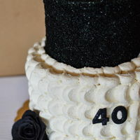 Refined And Simple for a 40th birthday