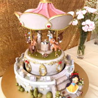 Snow White Themed Automated Carousel Cake I designed this cake for my daughter's 2 years old birthday. First I started off by drawing a concept of the cake in photoshop, my...