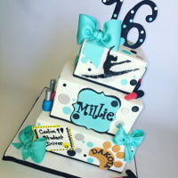 Sweet 16 For Millie Custom design specifically for all things Millie loves.