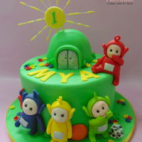 Teletubbies Cake Teletubbies cake