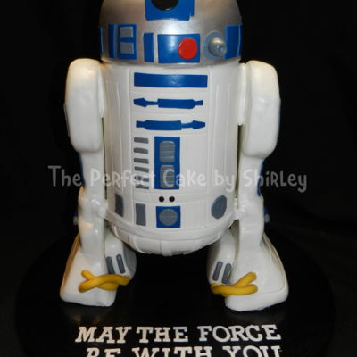 3-D R2D2 Cake With Sound