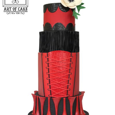 Kinky Boots Inspired Cake - My 2017 Ny Cake Show Entry This year was the first time I compeated! Got a bronze award :)