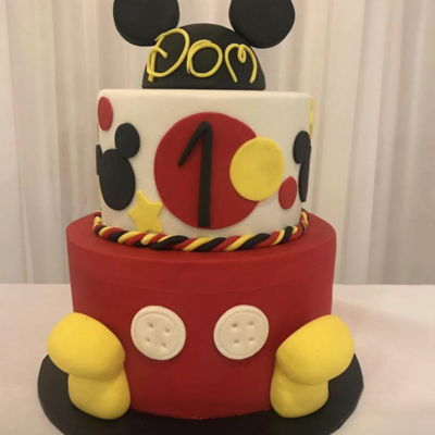 Mickey Inspired Cake