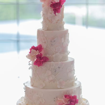Pink And Lace Buttercream Finish . Sugar Bougainvillea Photos Chad Munro