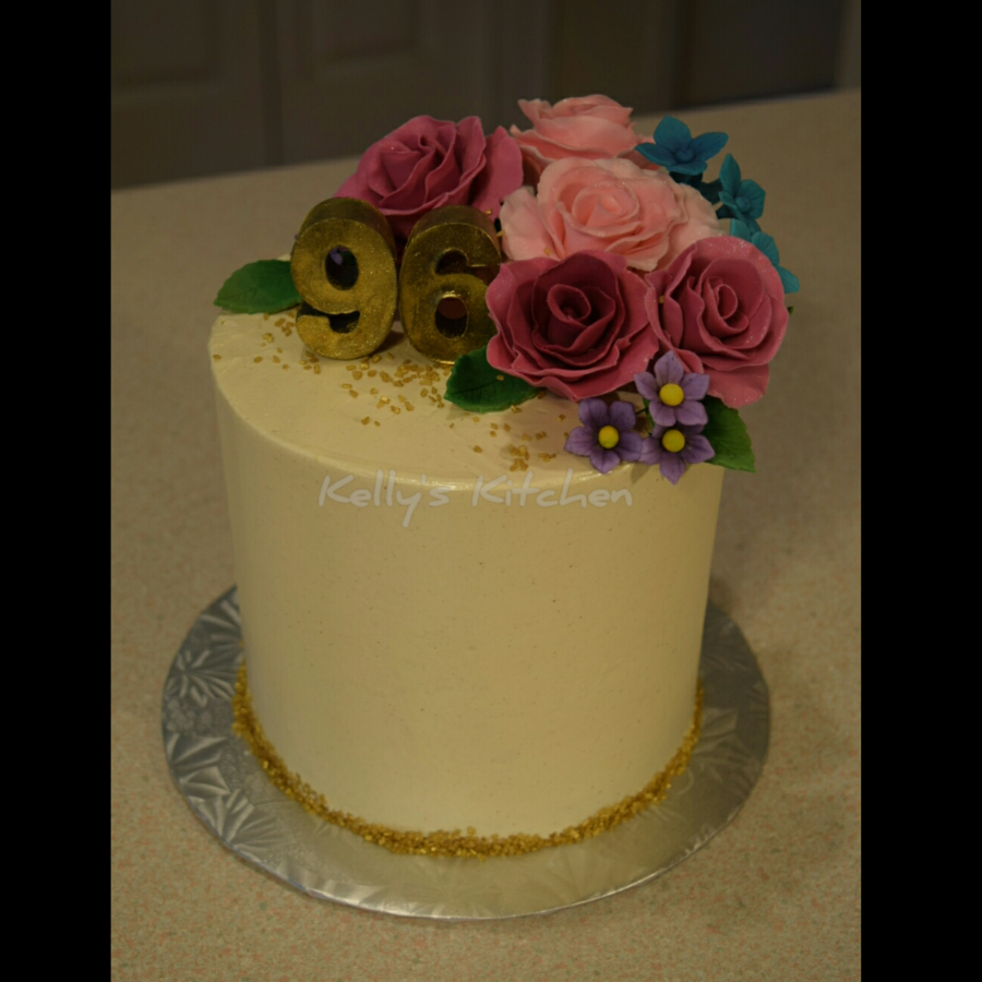 96th Birthday Cake Cakecentral Com