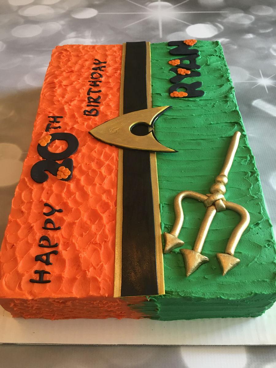 Aqua Man Cake Cakecentral Com