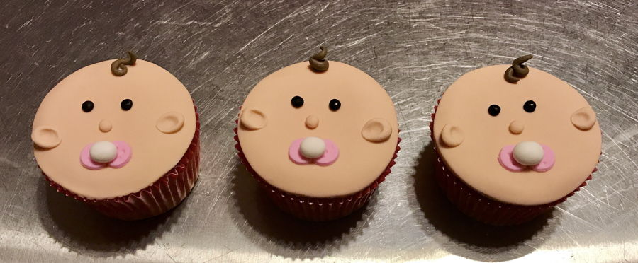 Baby Face Cupcakes on Cake Central
