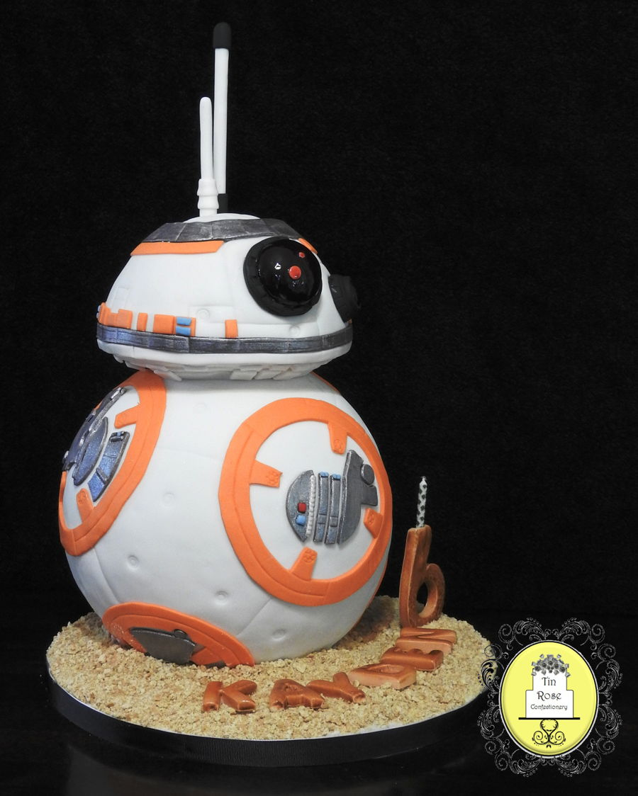 Bb8 Droid Birthday Cake Cakecentral Com