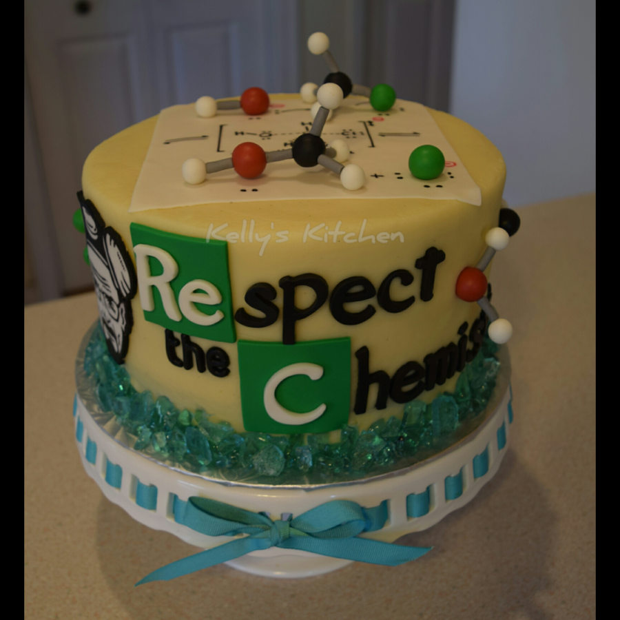 Chemistry Breaking Bad Cake Cakecentral Com