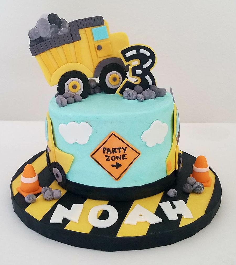 Construction Cake CakeCentralcom