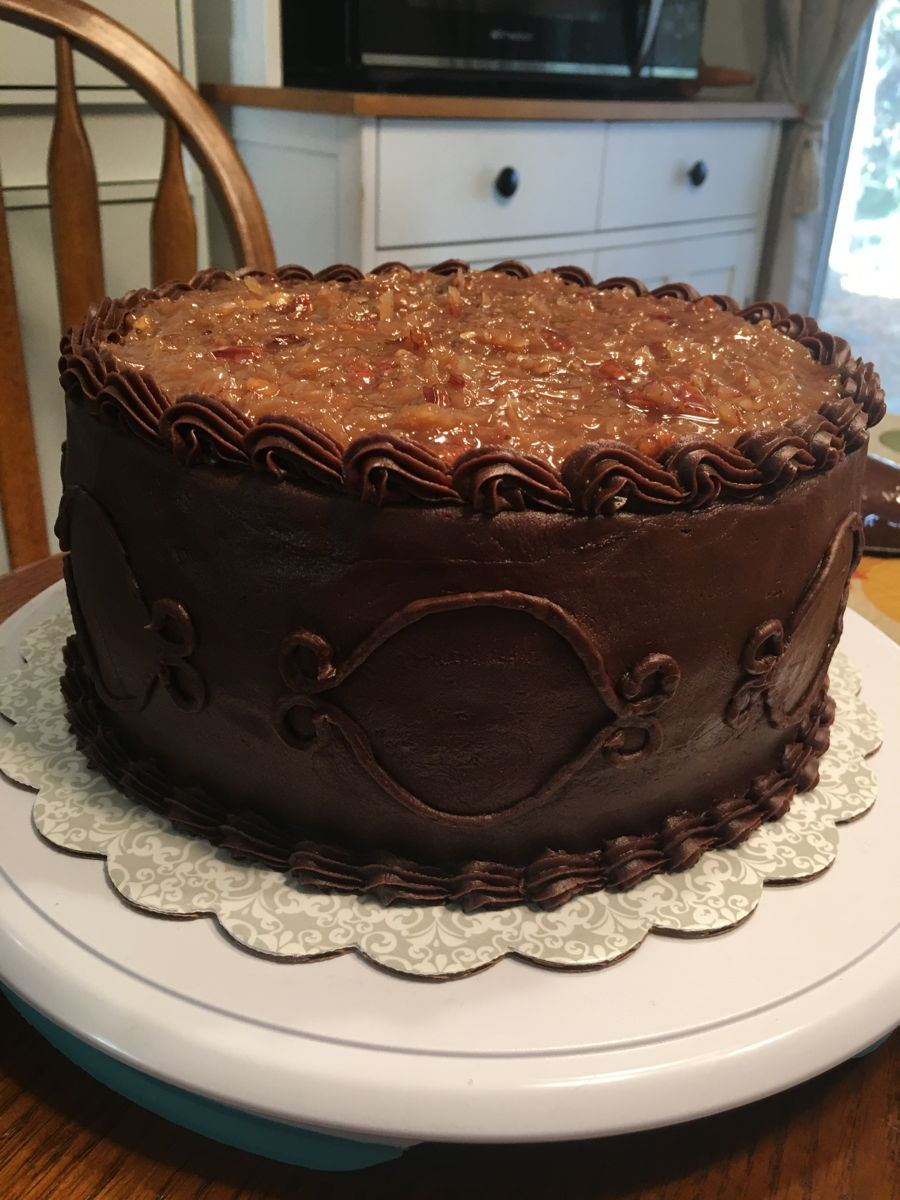 German Chocolate Birthday Cake - CakeCentral.com