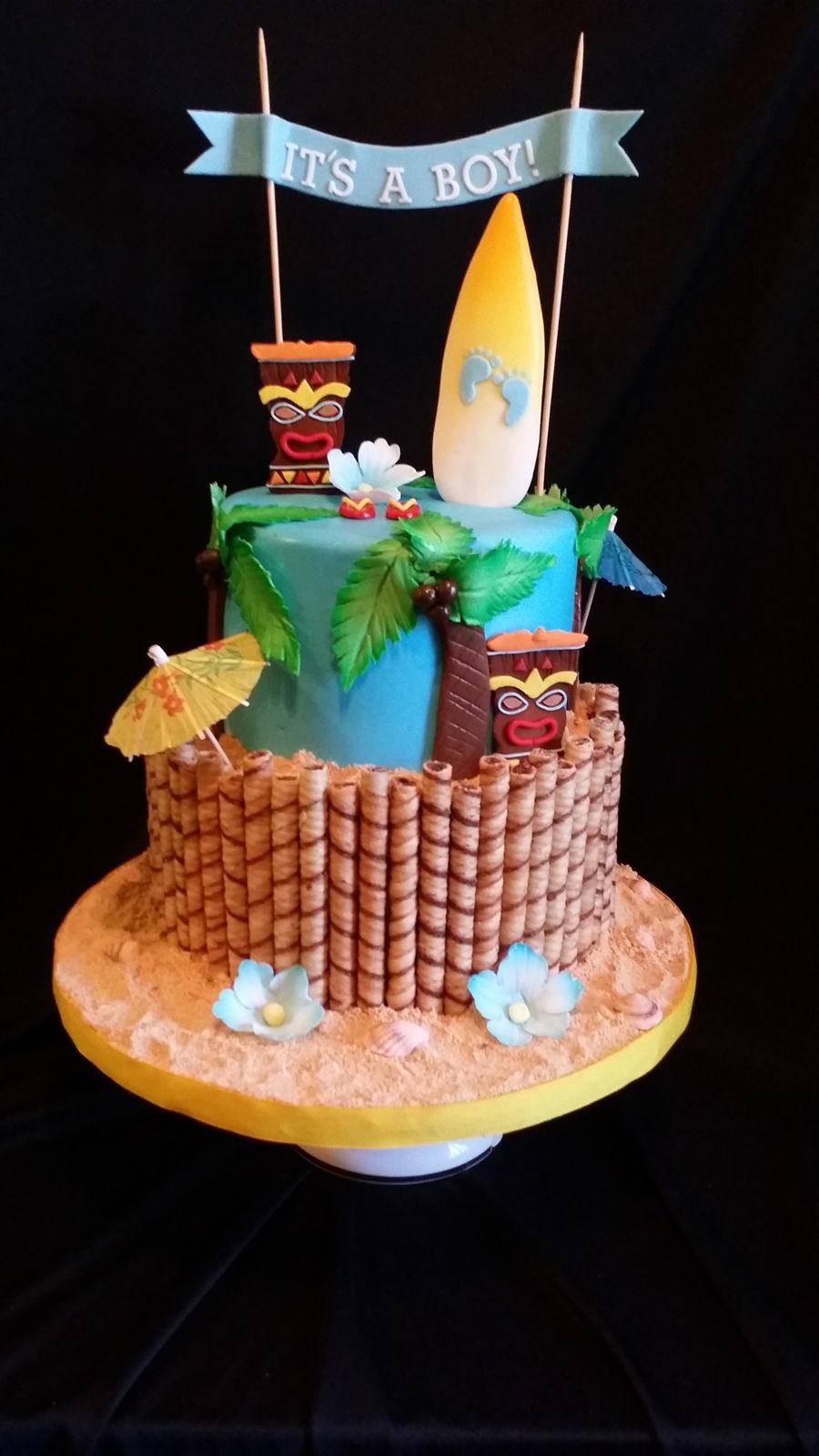 Hawaiian Baby Shower Cake Cakecentral