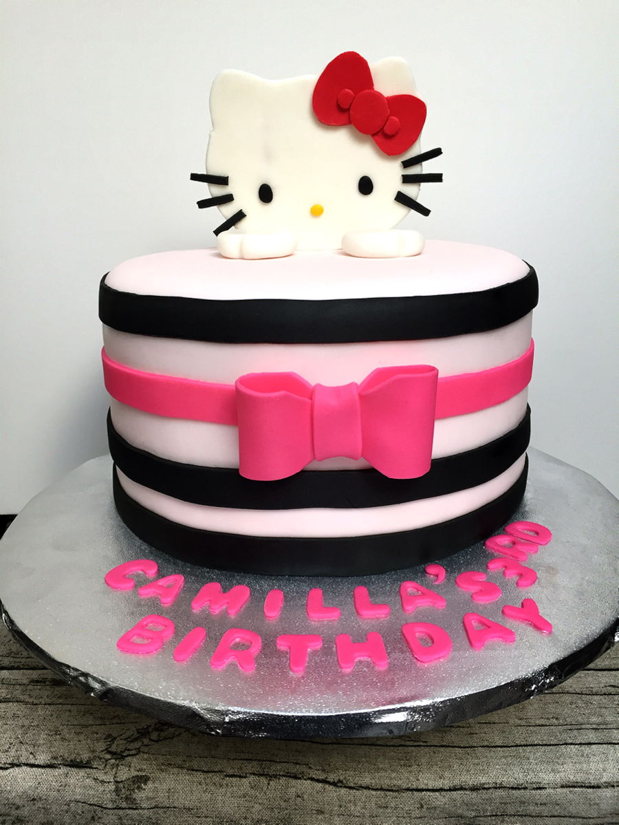 Hello Kitty Theme Cake on Cake Central