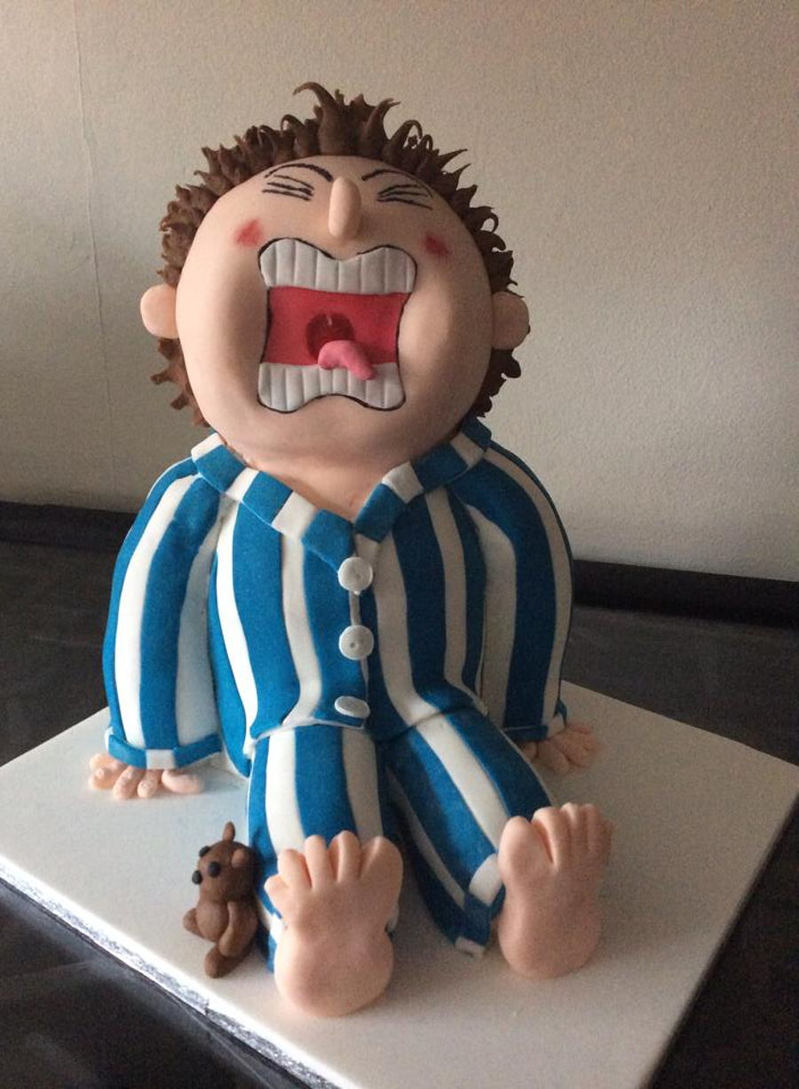 Horrid Henry Birthday Cake