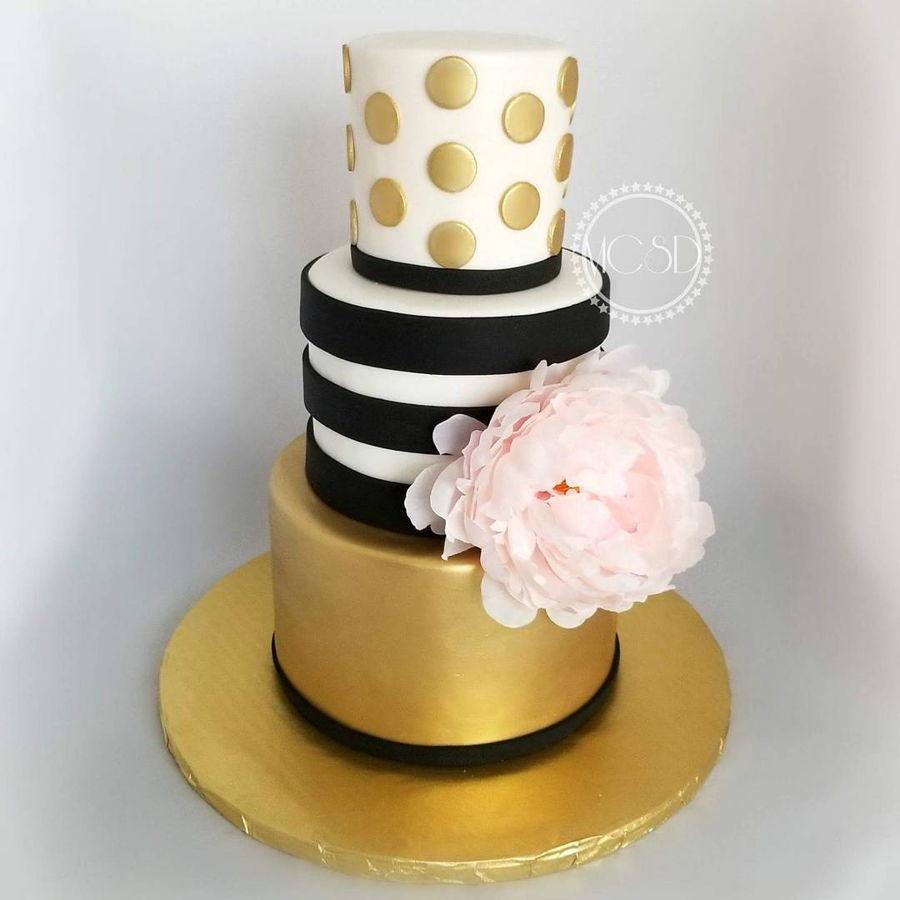 Kate Spade Birthday Cake - CakeCentral.com