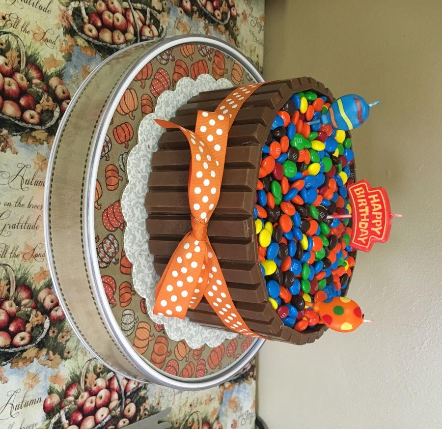 Kit Kat Birthday Cake - CakeCentral.com