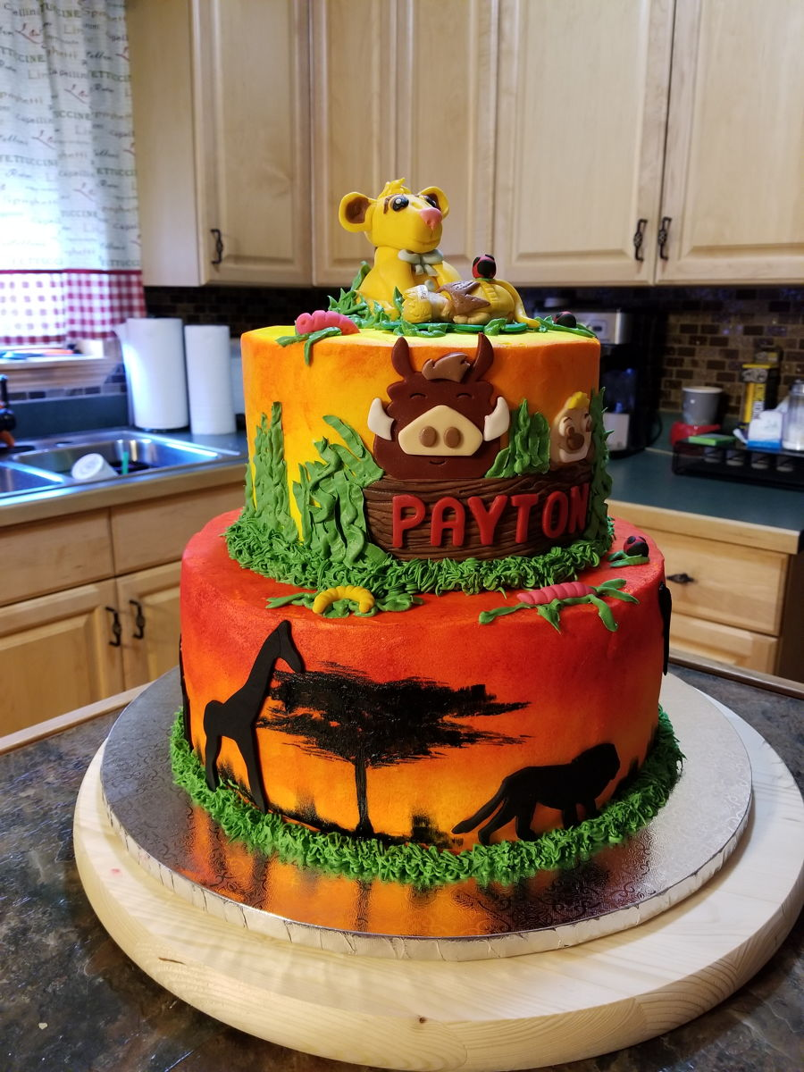 Lion King Baby Shower Cake Cakecentral Com