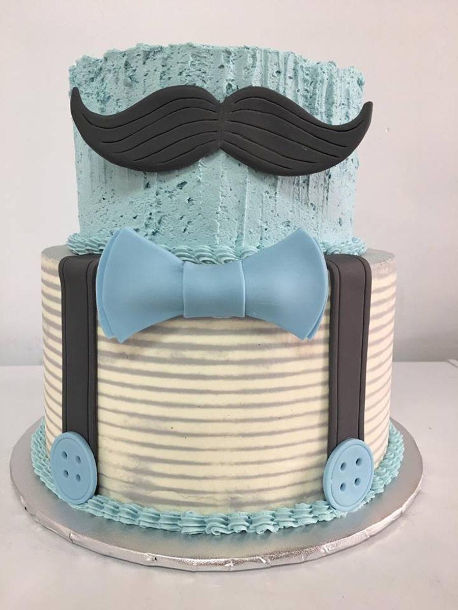 Little Gentleman Baby Shower Cake On Cake Central