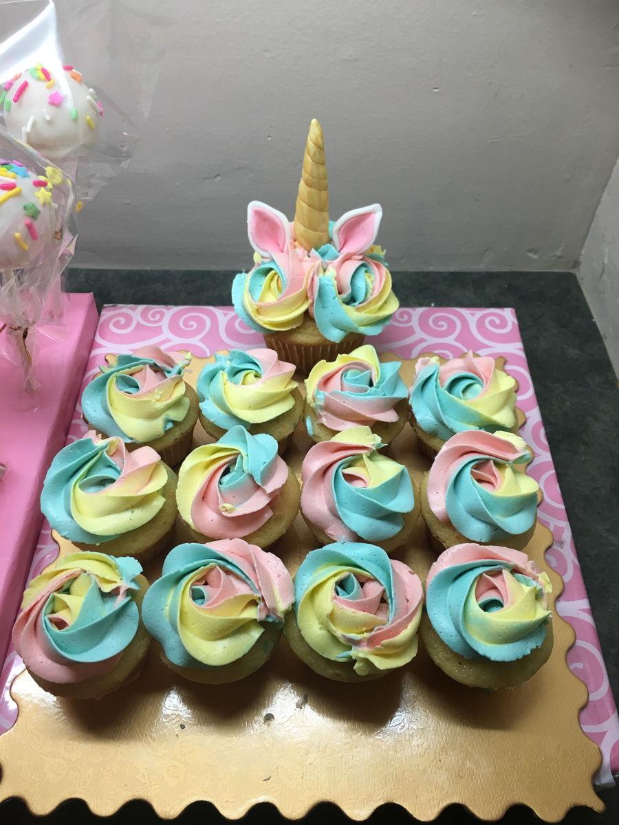 Rainbow Birthday Party Cake