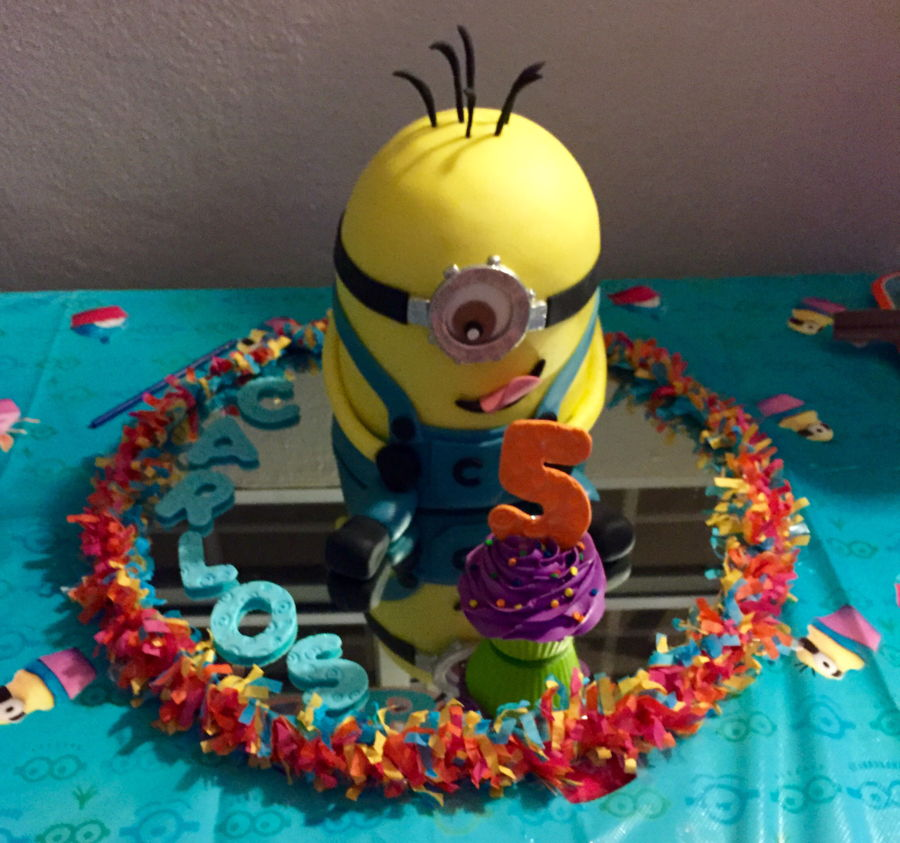 Minions Fun Cake on Cake Central