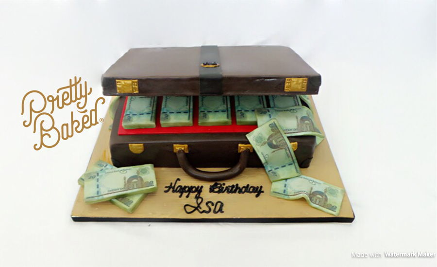 I Made This Cake For One Of My Dearest Friends That Loves Money So Much