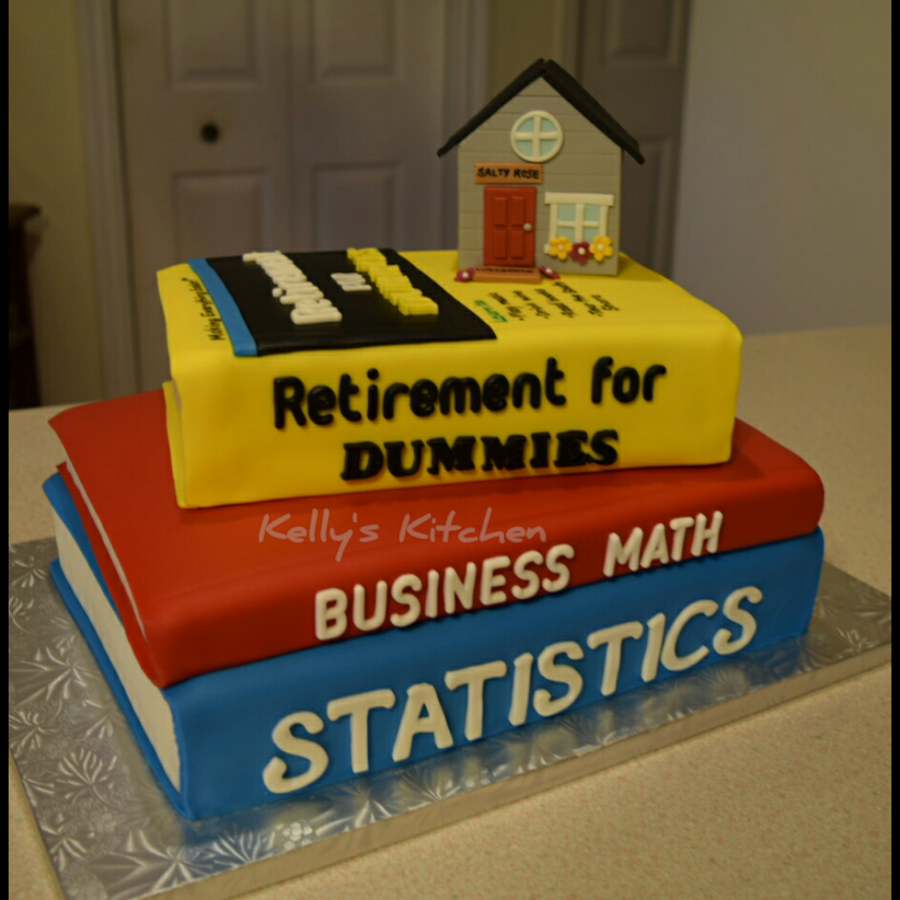 Retirement Cake Cakecentral