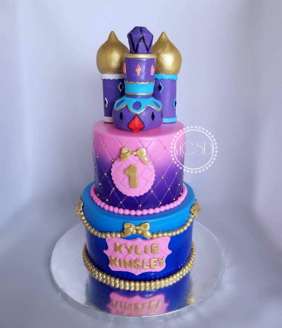 900_shimmer shine 1st birthday cake 825916MBQPI