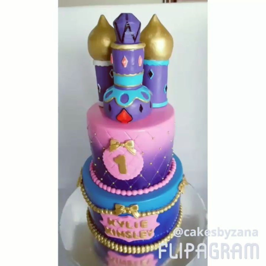 Shimmer And Shine Birthday Cake Topper