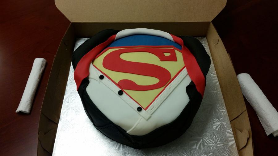 Superman on Cake Central