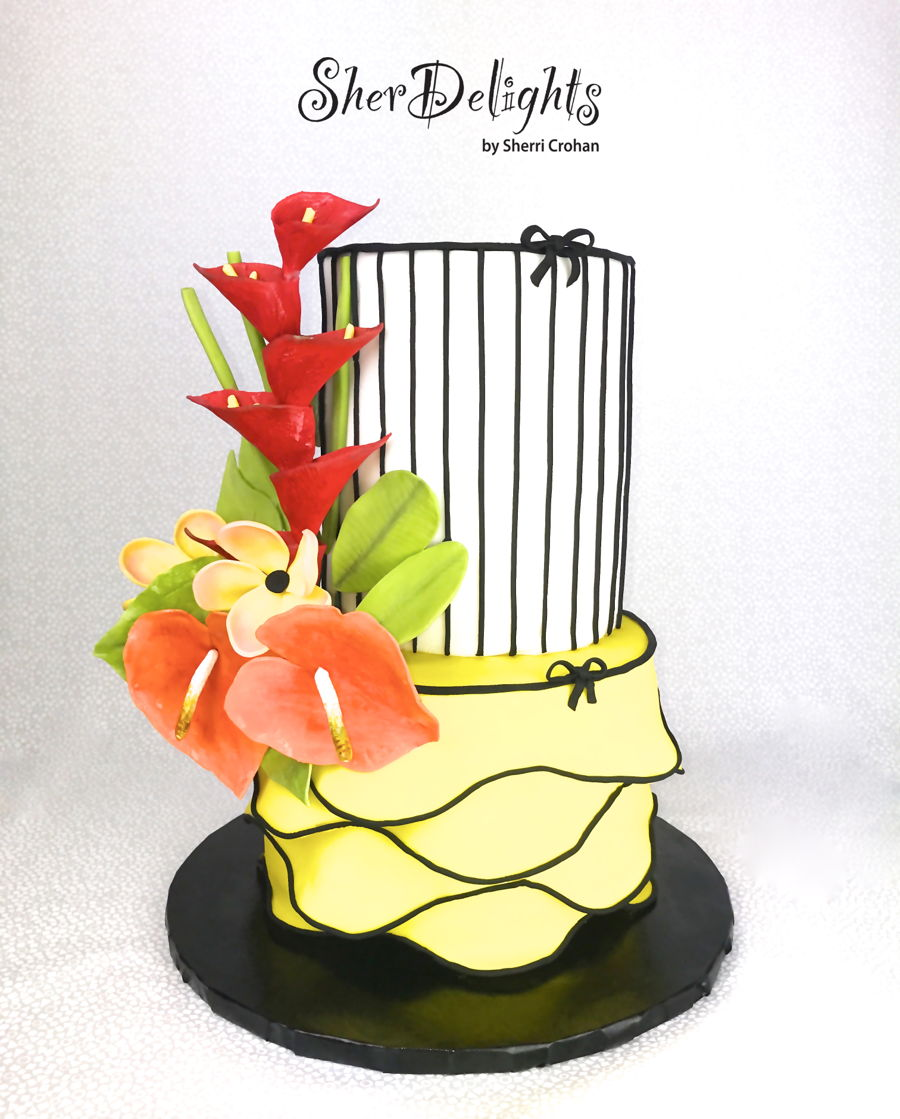 Tropical! on Cake Central