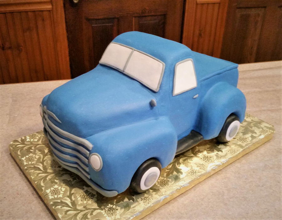 Vintage Chevy Truck on Cake Central