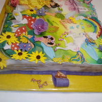 Birthday Book For A 4 Year Old Girl Inside chocolate cake with 4 surprise eggs