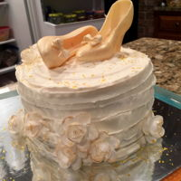Bride To Be Shoes Coconut pecan with cream cheese icing.